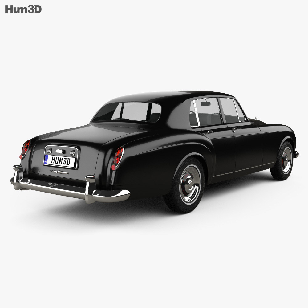 Bentley S3 Continental Flying Spur Saloon 1964 3d model