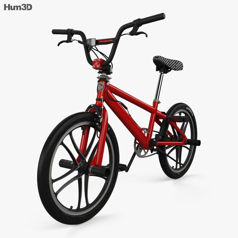 Mongoose BMX Bicycle 3d model