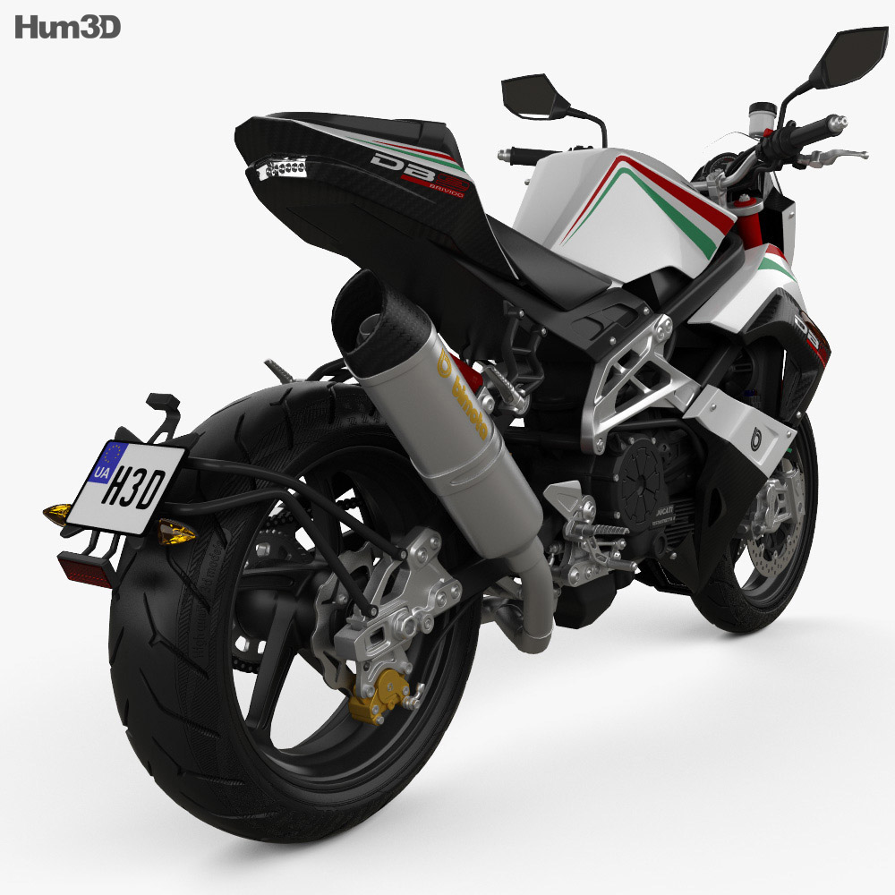 Bimota DB9 Brivido 2012 3d model