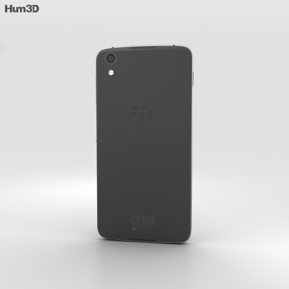 BlackBerry DTEK50 Black 3d model
