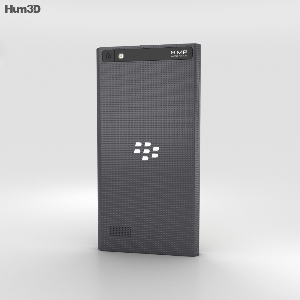 BlackBerry Leap Black 3d model