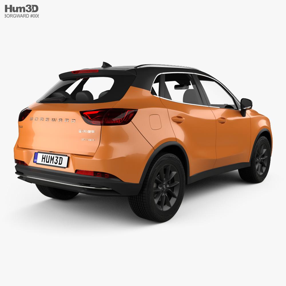 Borgward BX3 2020 3D model_By HUM3D Borgward BX3 2020 3D model_By HUM3D Borgward BX3 2020 3D model_By HUM3D