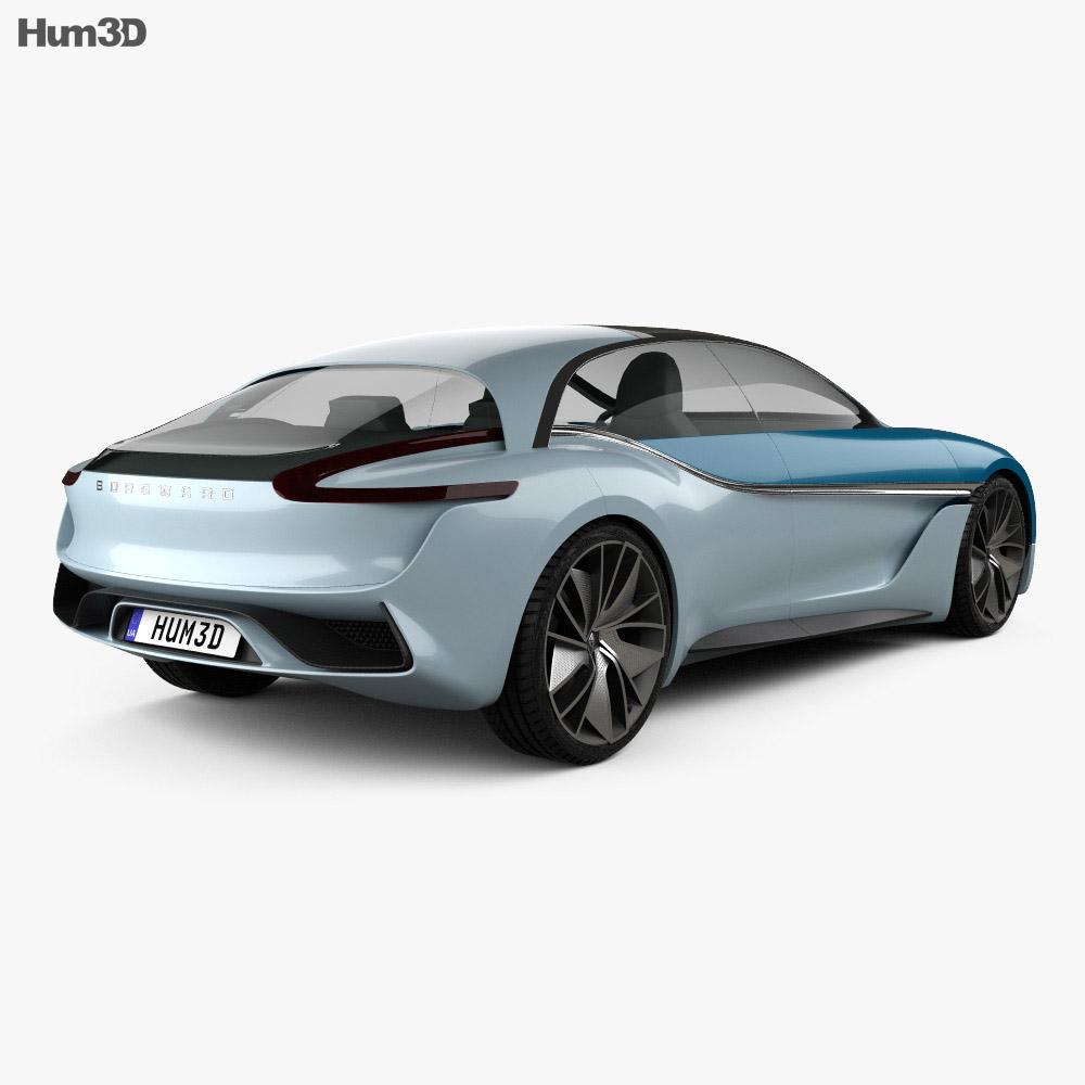 Borgward Isabella 2017 3d model