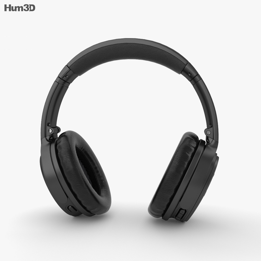 Bose QuietComfort 35 II 3d model