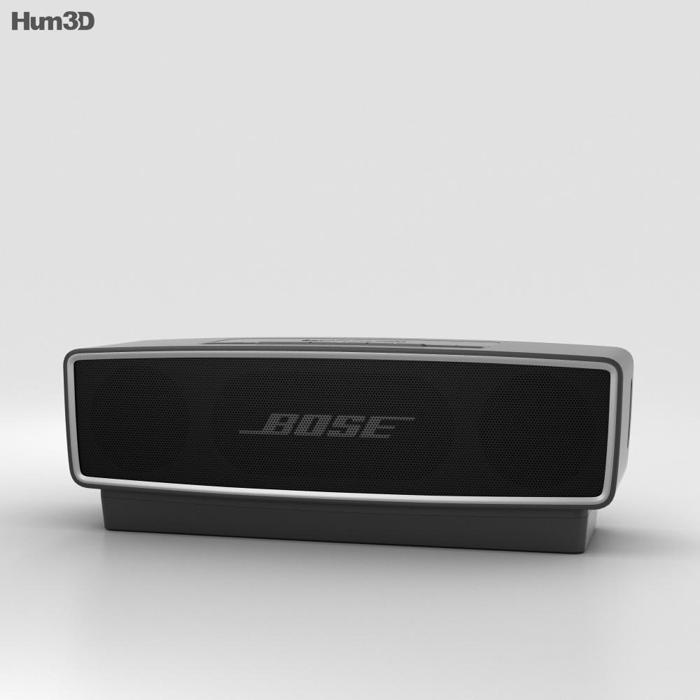 Bose Soundlink Mini 2 Carbon 3d Model Electronics On Hum3d