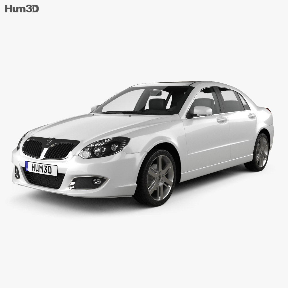 Brilliance BS4 2012 3d model