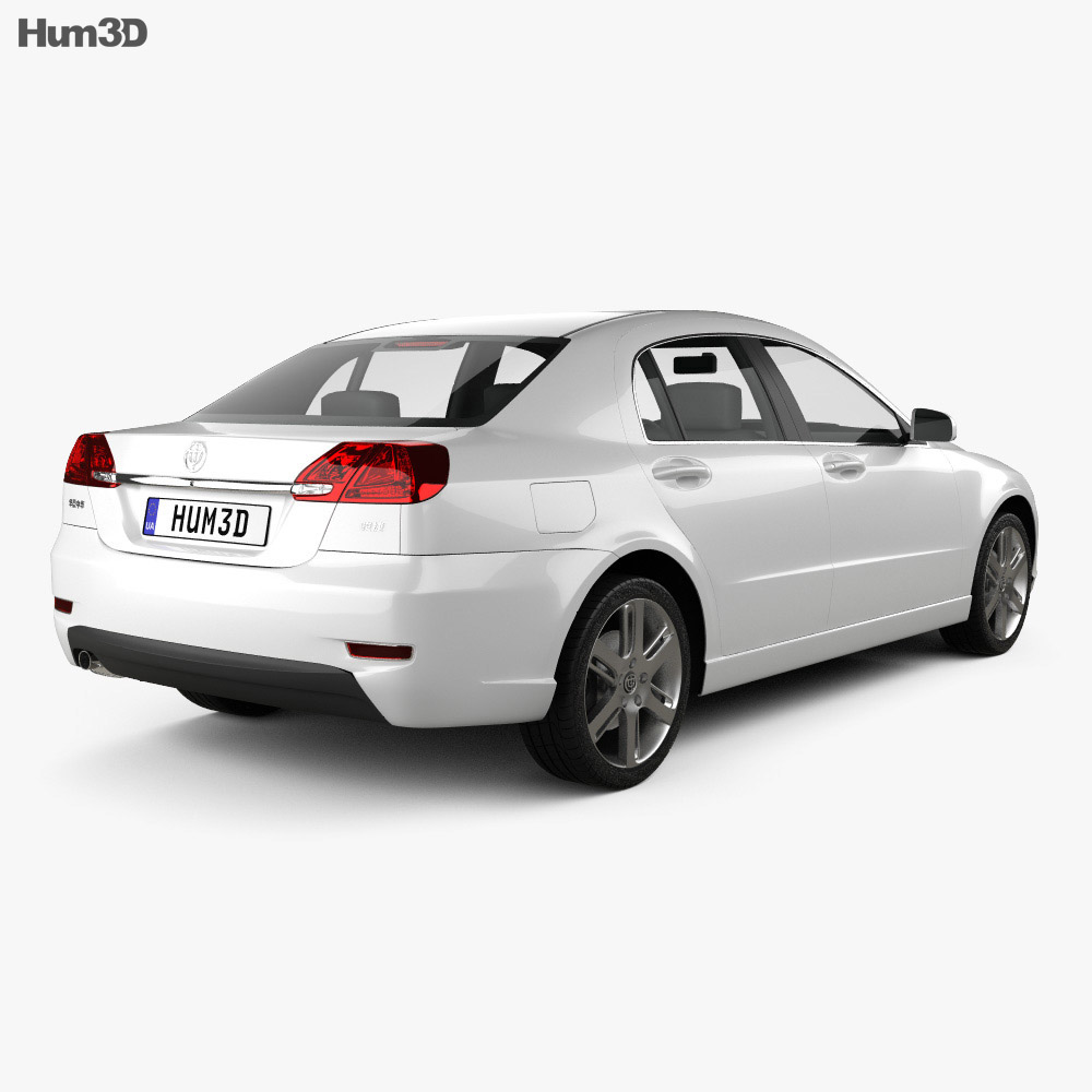 Brilliance BS4 2012 3d model back view