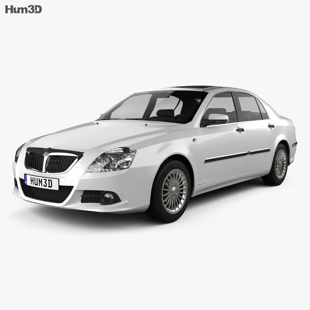 Brilliance BS6 2012 3d model