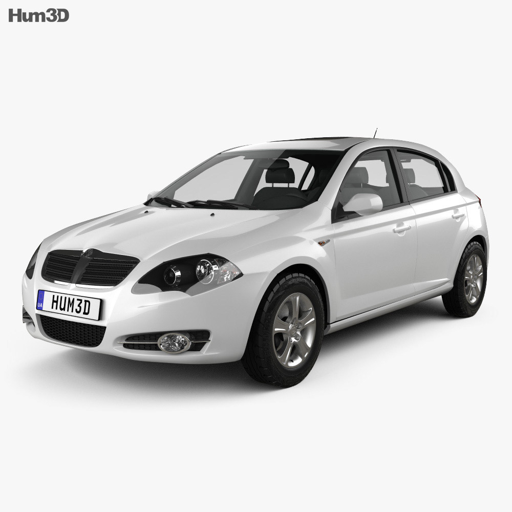 Brilliance BS2 (FRV) 2012 3d model