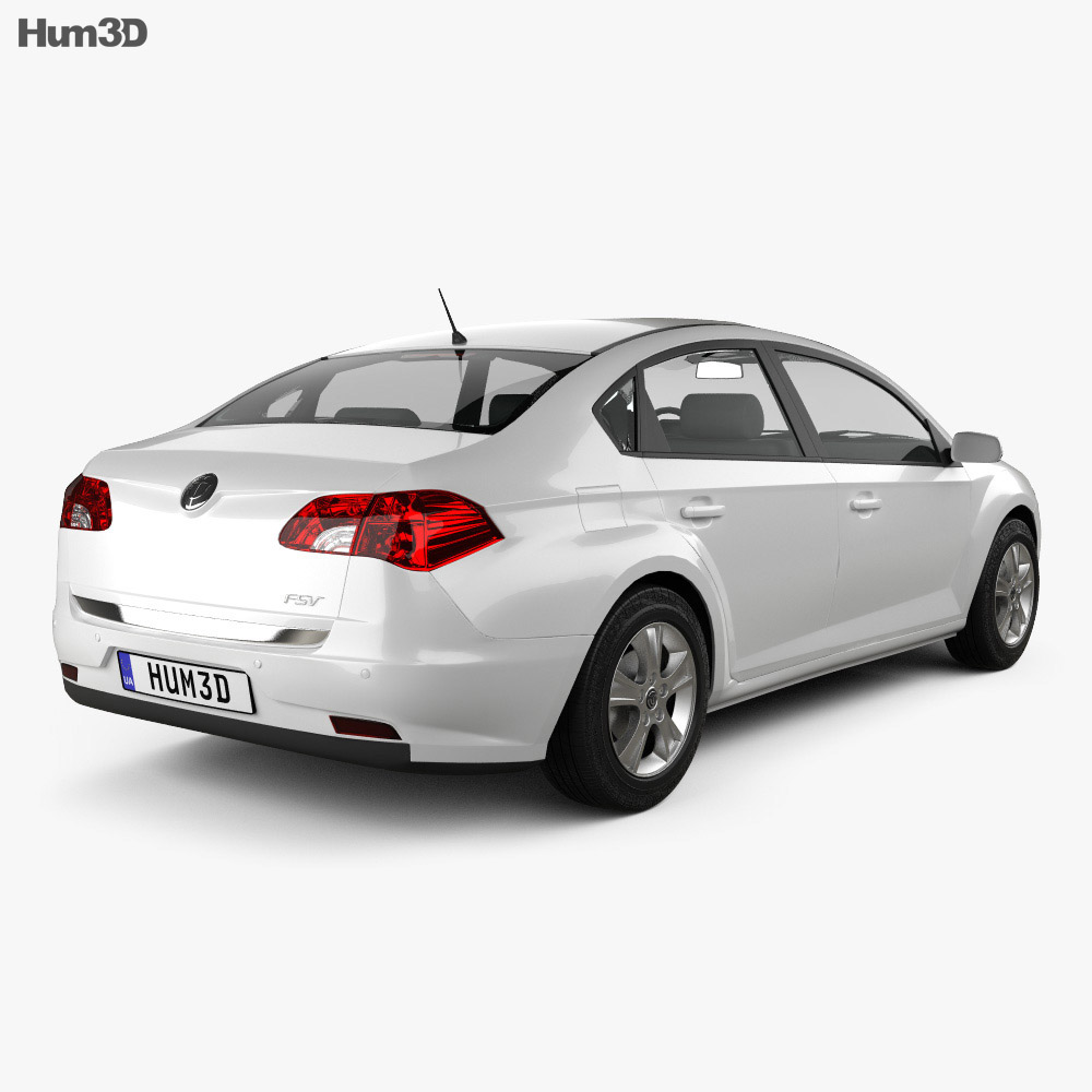 Brilliance FSV (BS2) 2012 3d model