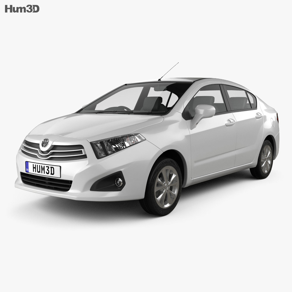 Brilliance H230 2012 3d model