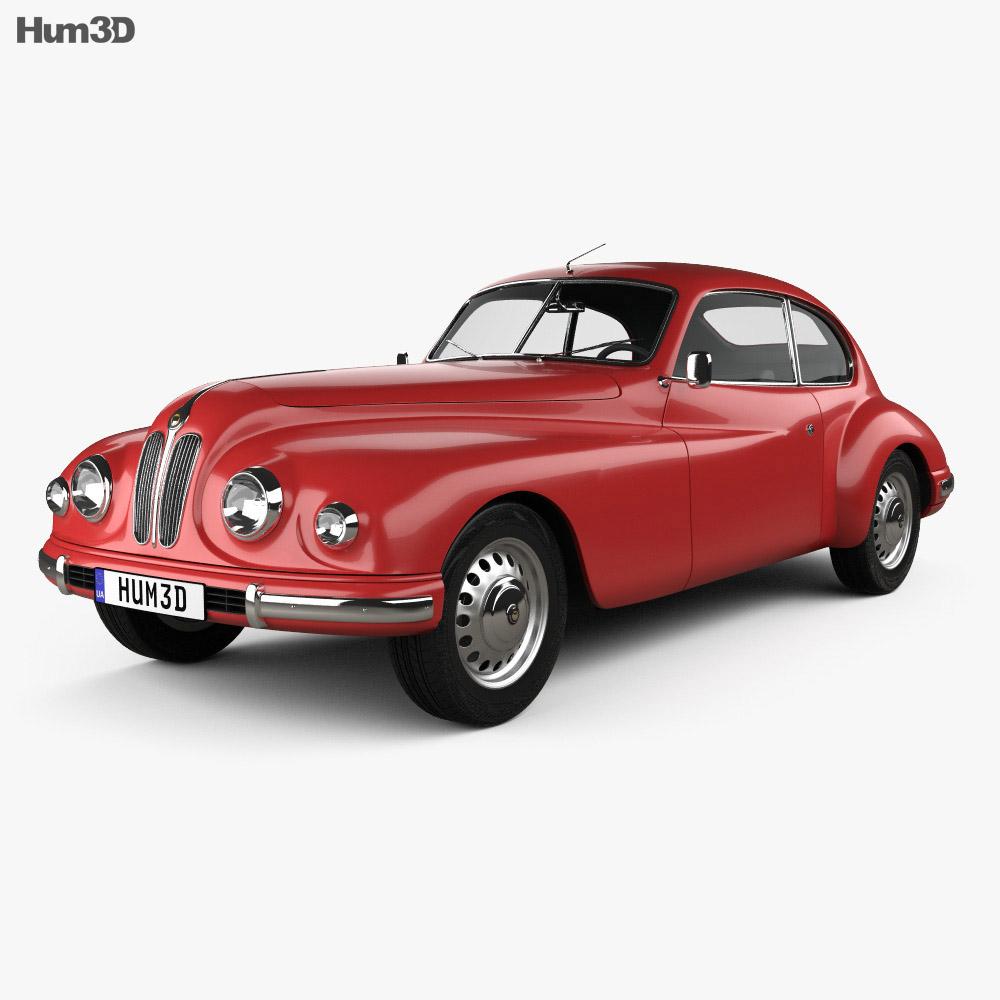 Bristol 401 1949 3d model
