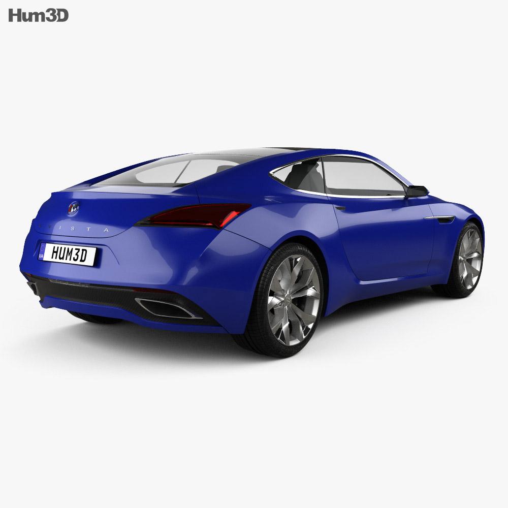 Buick Avista 2016 3d model