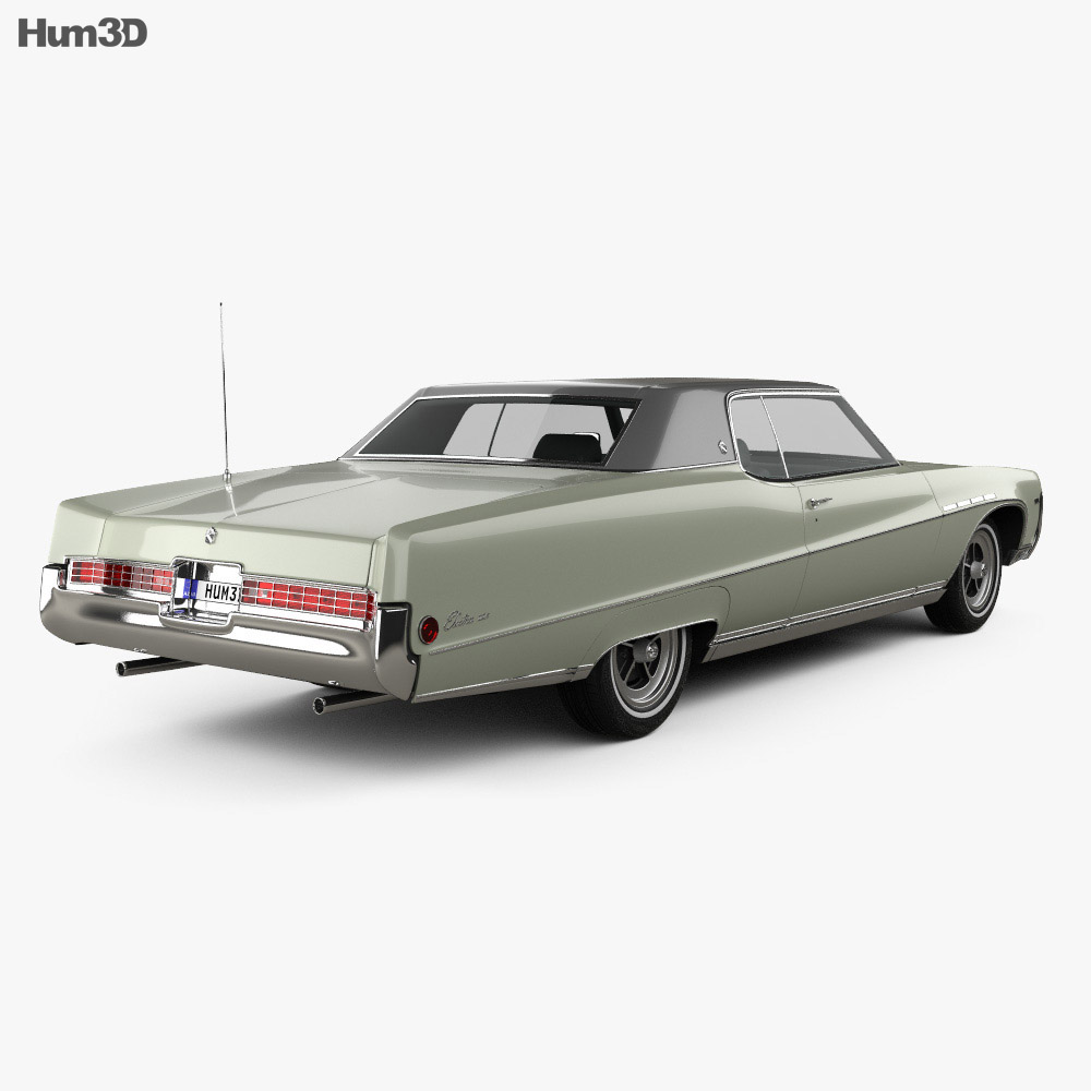 1969 Buick Electra 225 For Sale: Buick Electra 225 Custom Sport Coupe 1969 3D Model