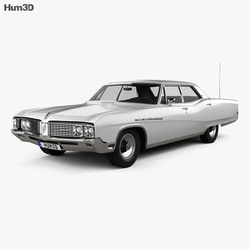 Buick Electra 225 4-door hardtop 1968 3d model