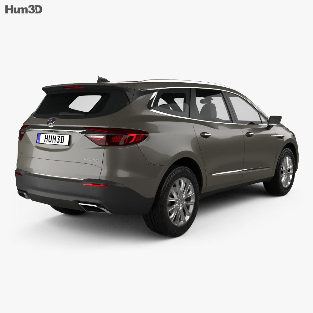 Buick Enclave 2017 3d model