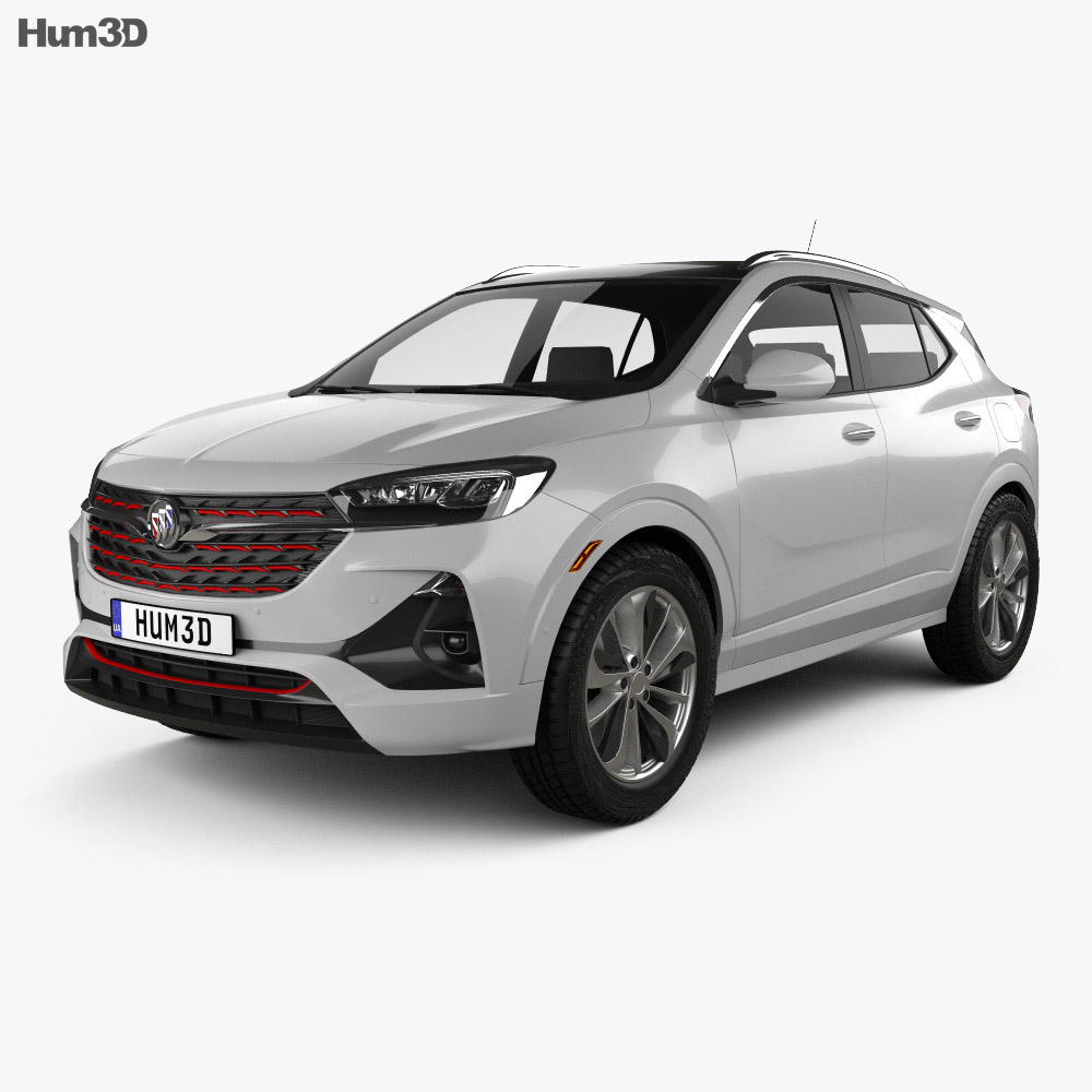 Buick Encore GX ST 2019 3d model