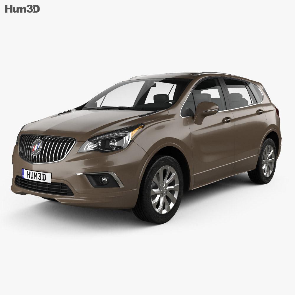 Buick Envision 2015 3d model