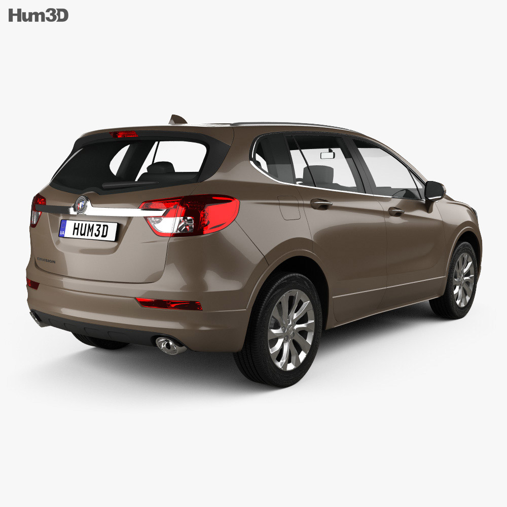 Buick Envision 2015 3d model