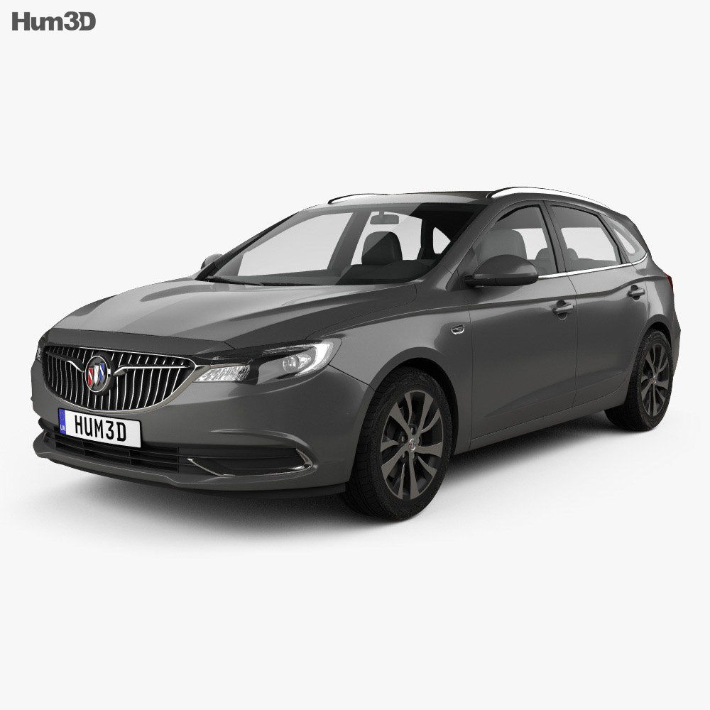 Buick Excelle GX 2017 3d model