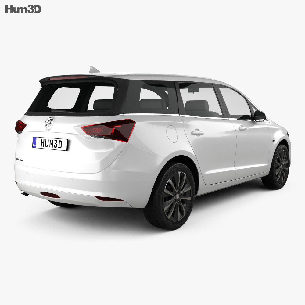 Buick GL6 2018 3d model