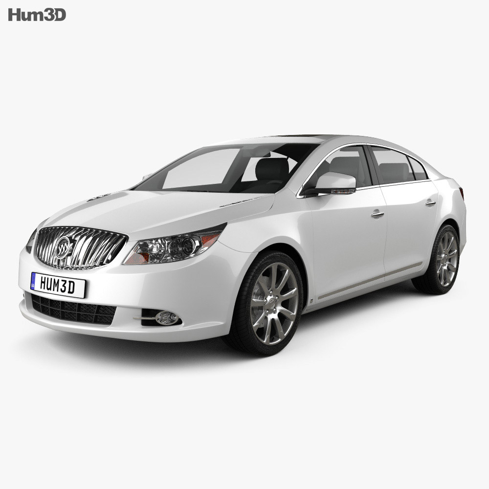 Buick LaCrosse (Alpheon) 2011 3d model