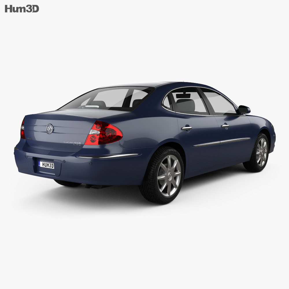 Buick LaCrosse CXS 2005 3d model