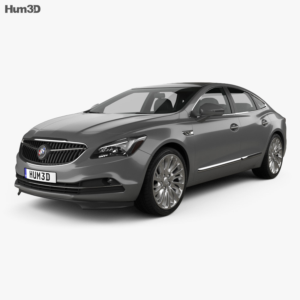 Buick LaCrosse (Allure) 2017 3d model