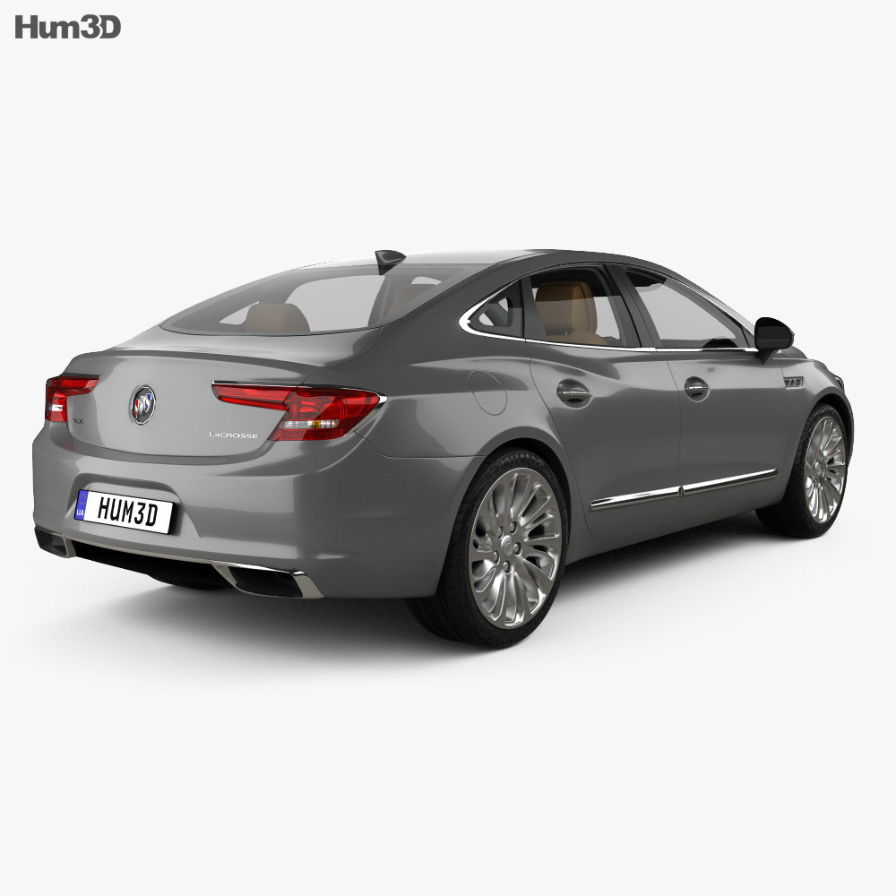 Buick LaCrosse (Allure) with HQ interior 2017 3d model