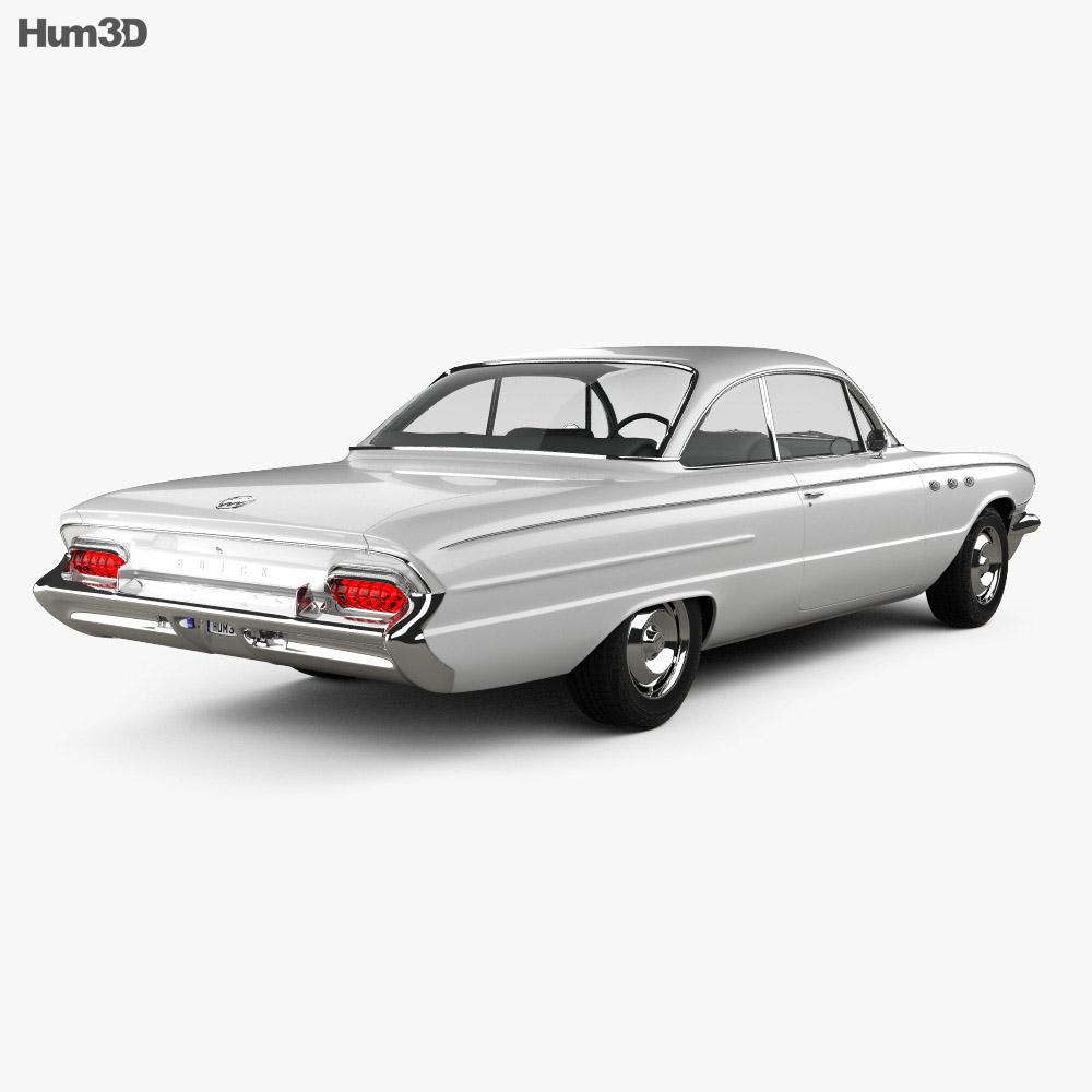 Buick LeSabre 2-door hardtop 1961 3d model