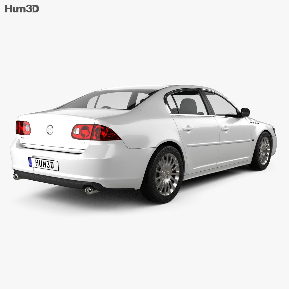 Buick Lucerne 2011 3d model