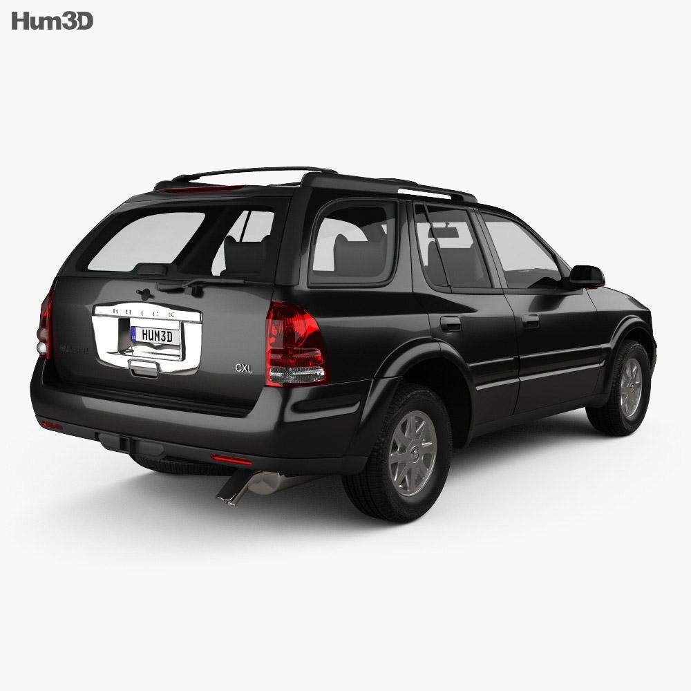 Buick Rainier 2004 3d model