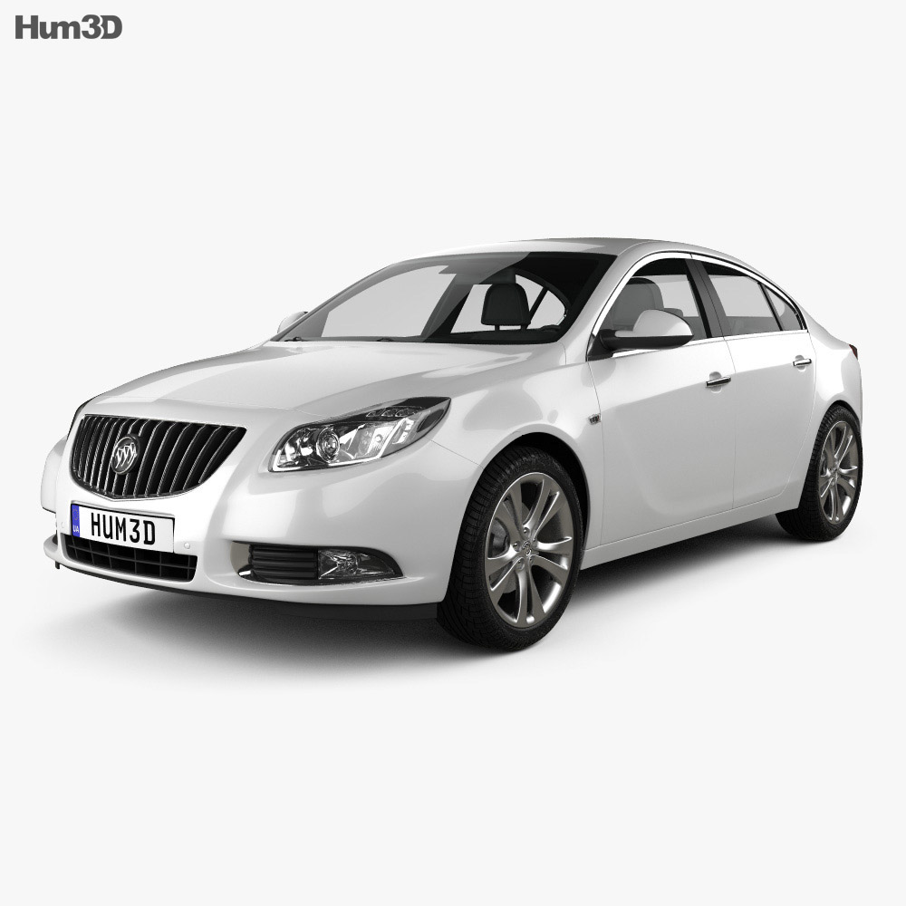 Buick Regal 2012 3d model