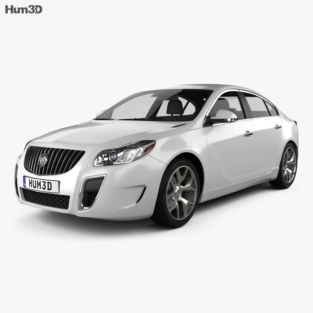 Buick Regal GS 2012 3d model