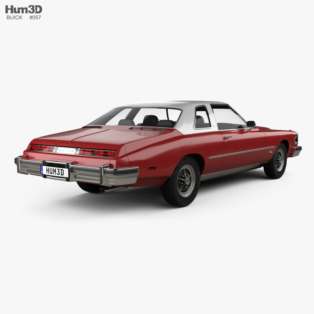 Buick Riviera GS 1975 3d model