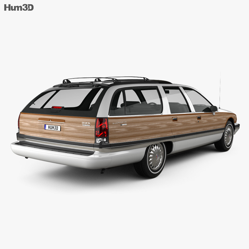 Buick Roadmaster wagon 1991 3d model