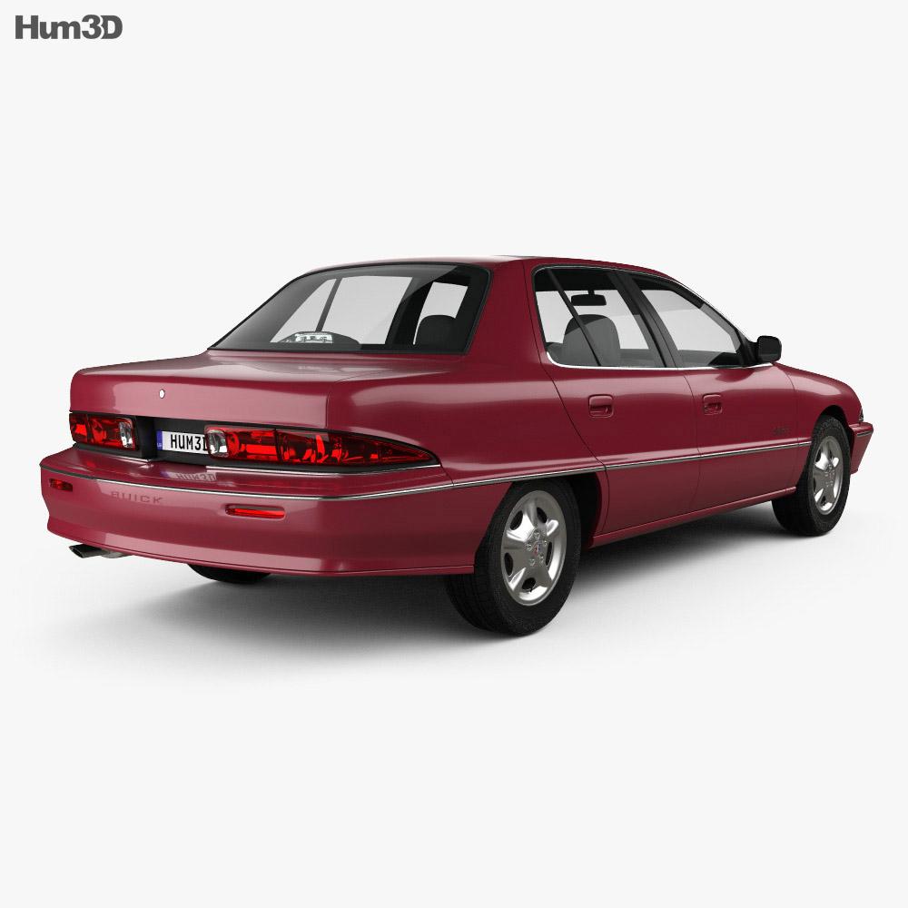 Buick Skylark sedan 1995 3d model