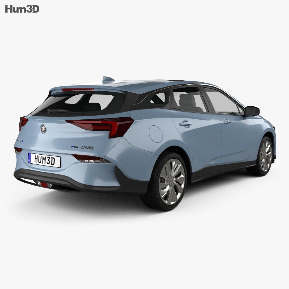 Buick Velite 6 PHEV 2018 3d model