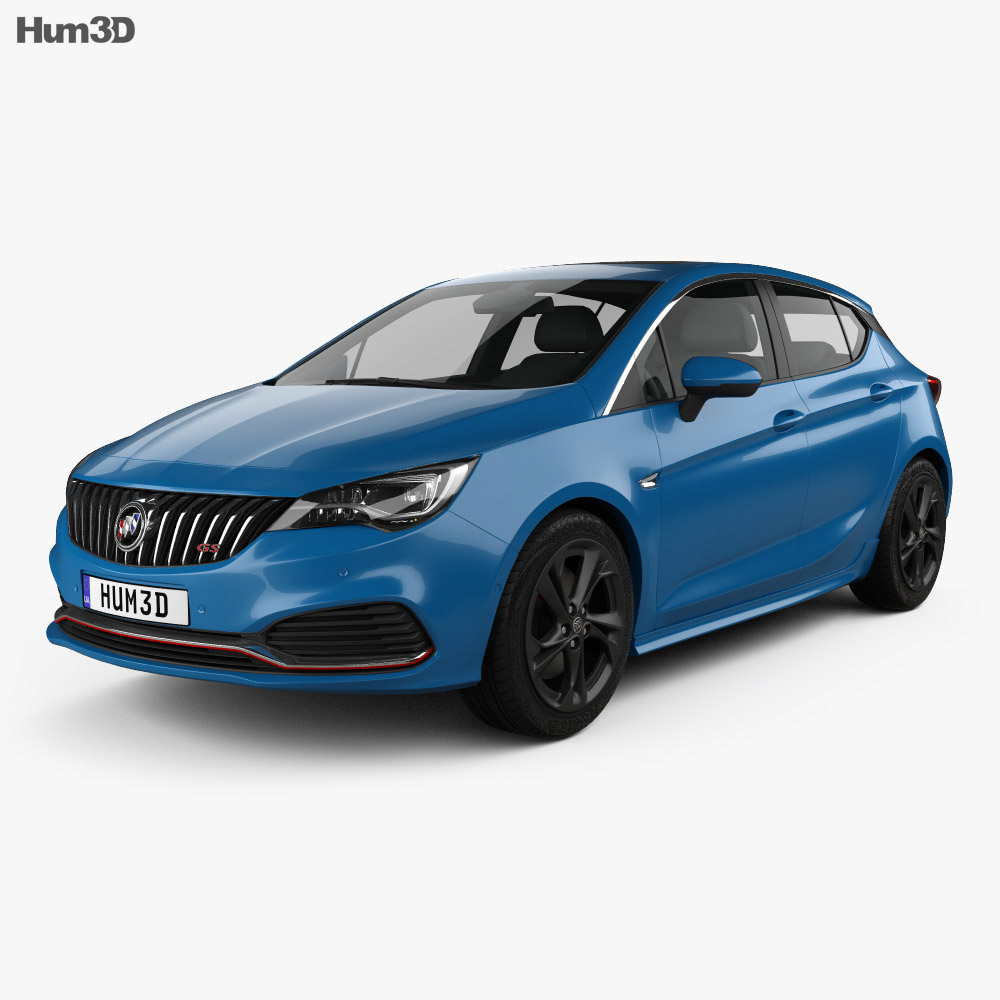 Buick Verano GS (CN) 2015 3d model