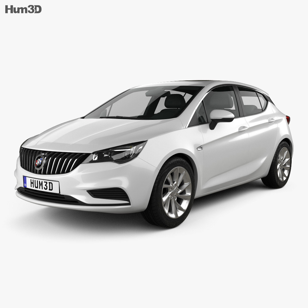 Buick Verano (CN) hatchback 2015 3d model