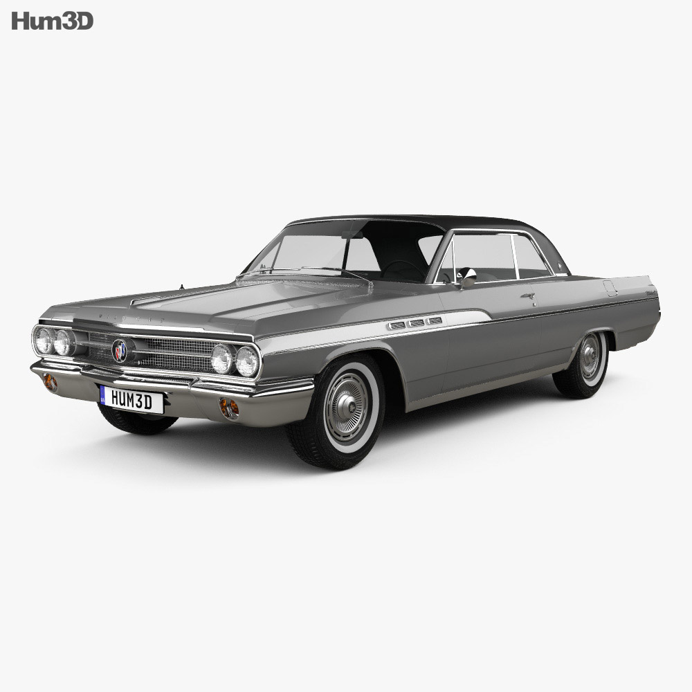Buick Wildcat convertible 1963 3d model