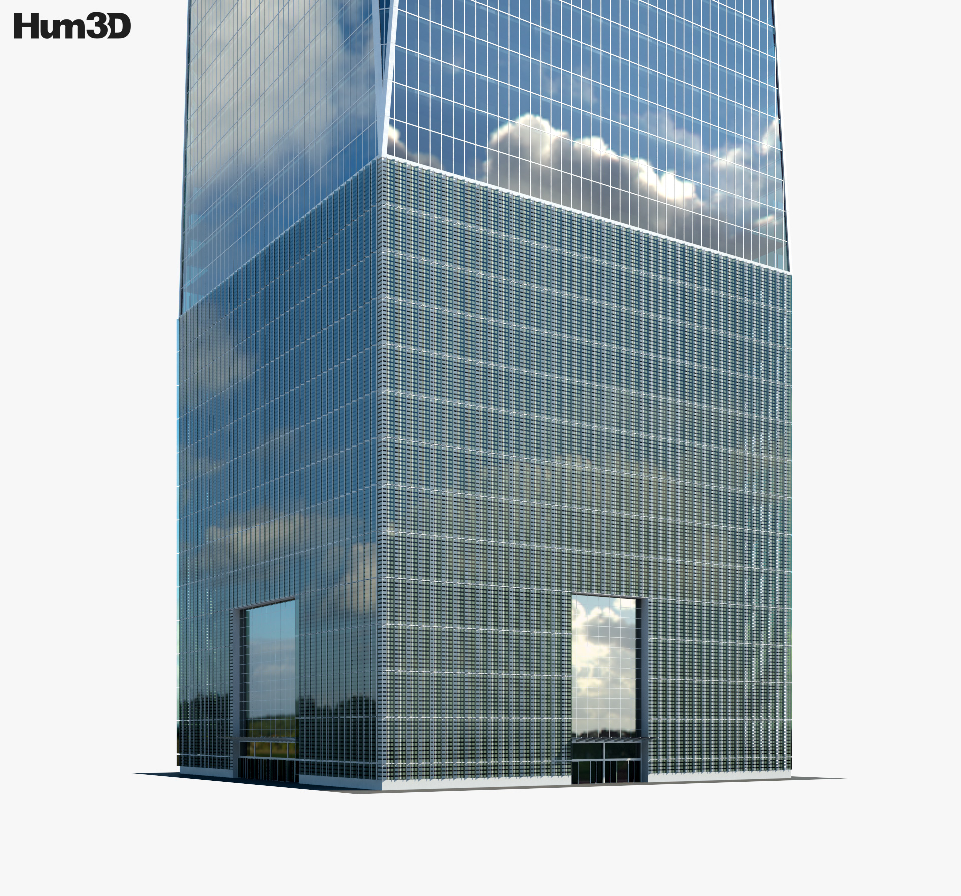 One World Trade Center 3d model