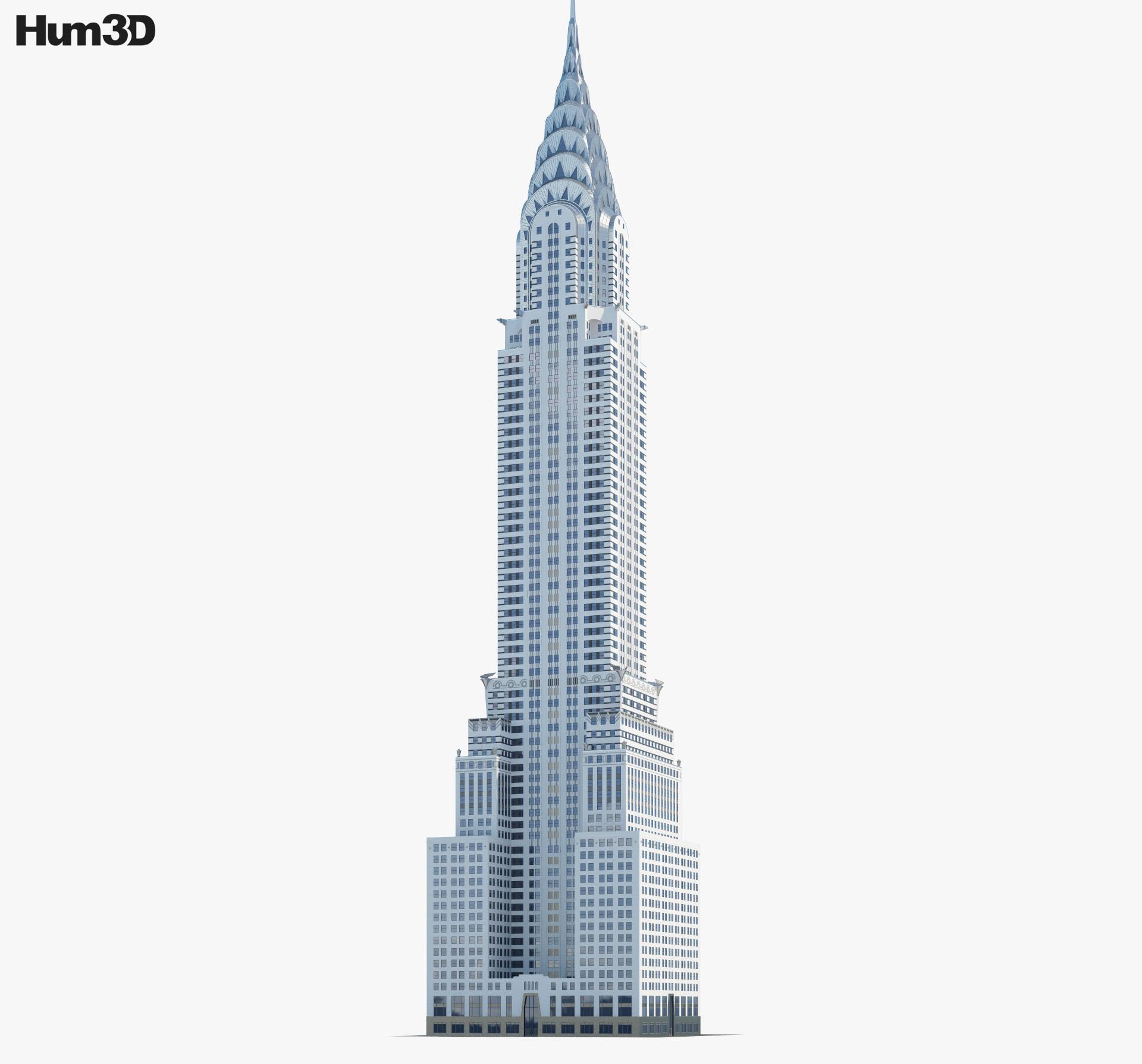 Chrysler Building 3d model