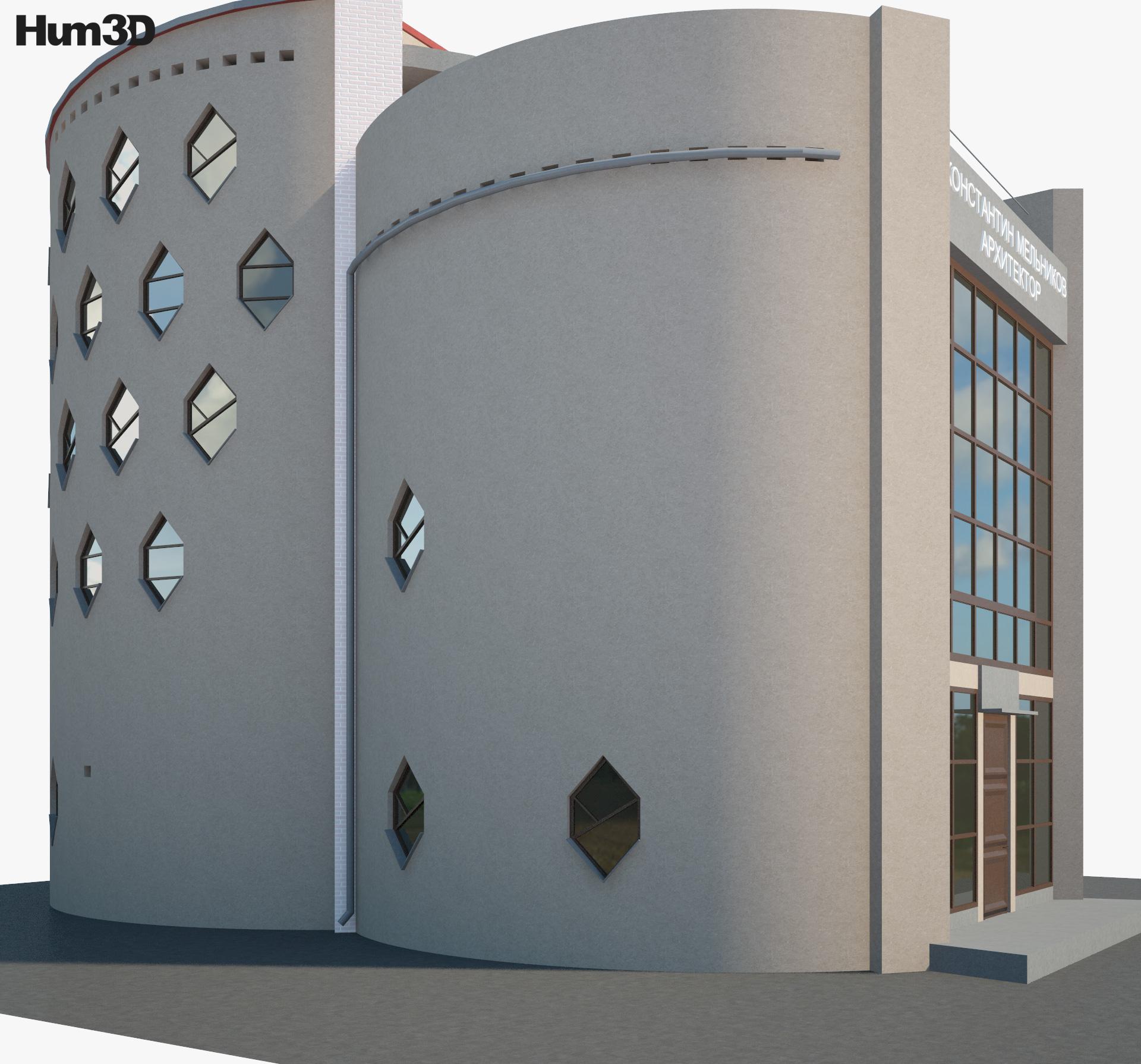 Melnikov House 3d model