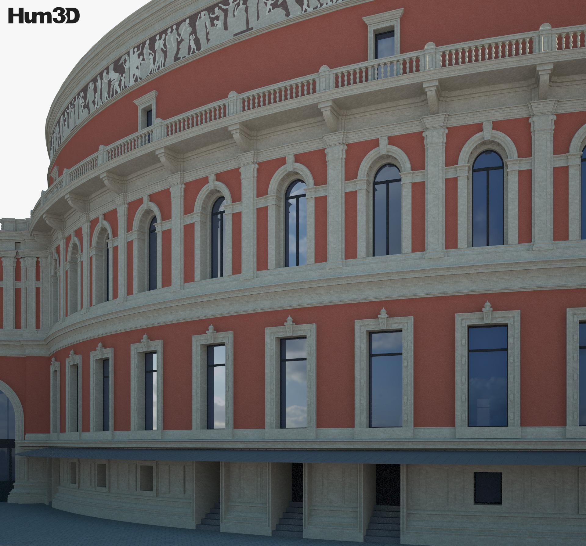 Royal Albert Hall 3d model