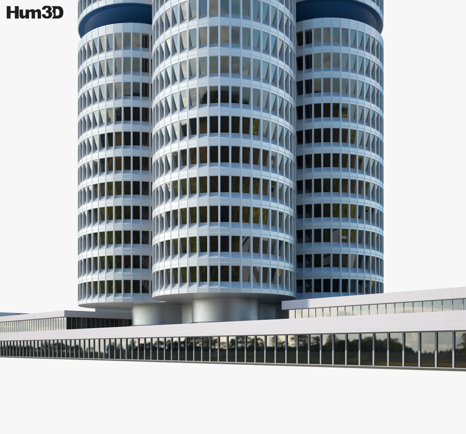 BMW Headquarters 3d model