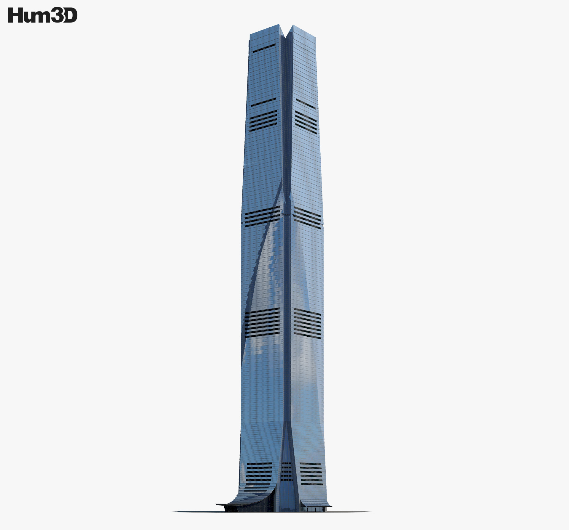 3D model of International Commerce Centre