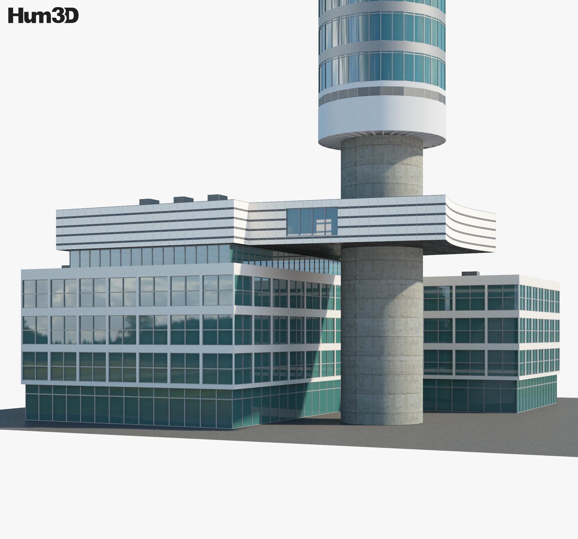 BT Tower 3d model