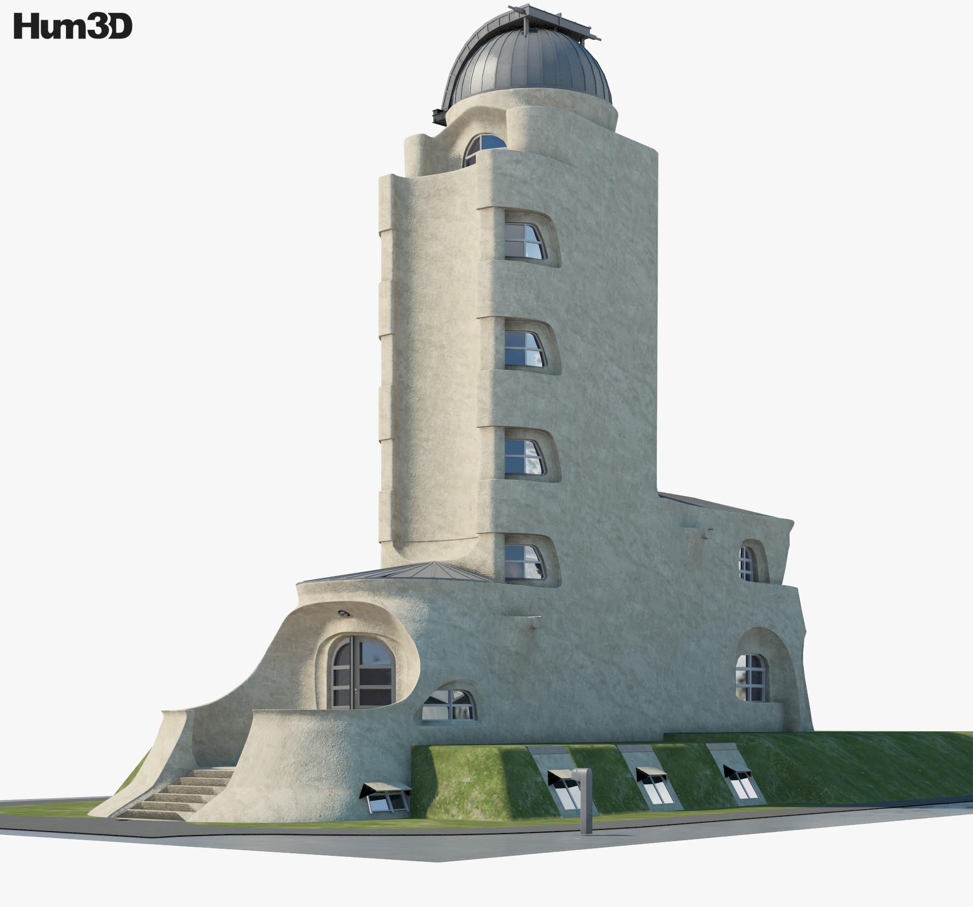 3D model of Einstein Tower
