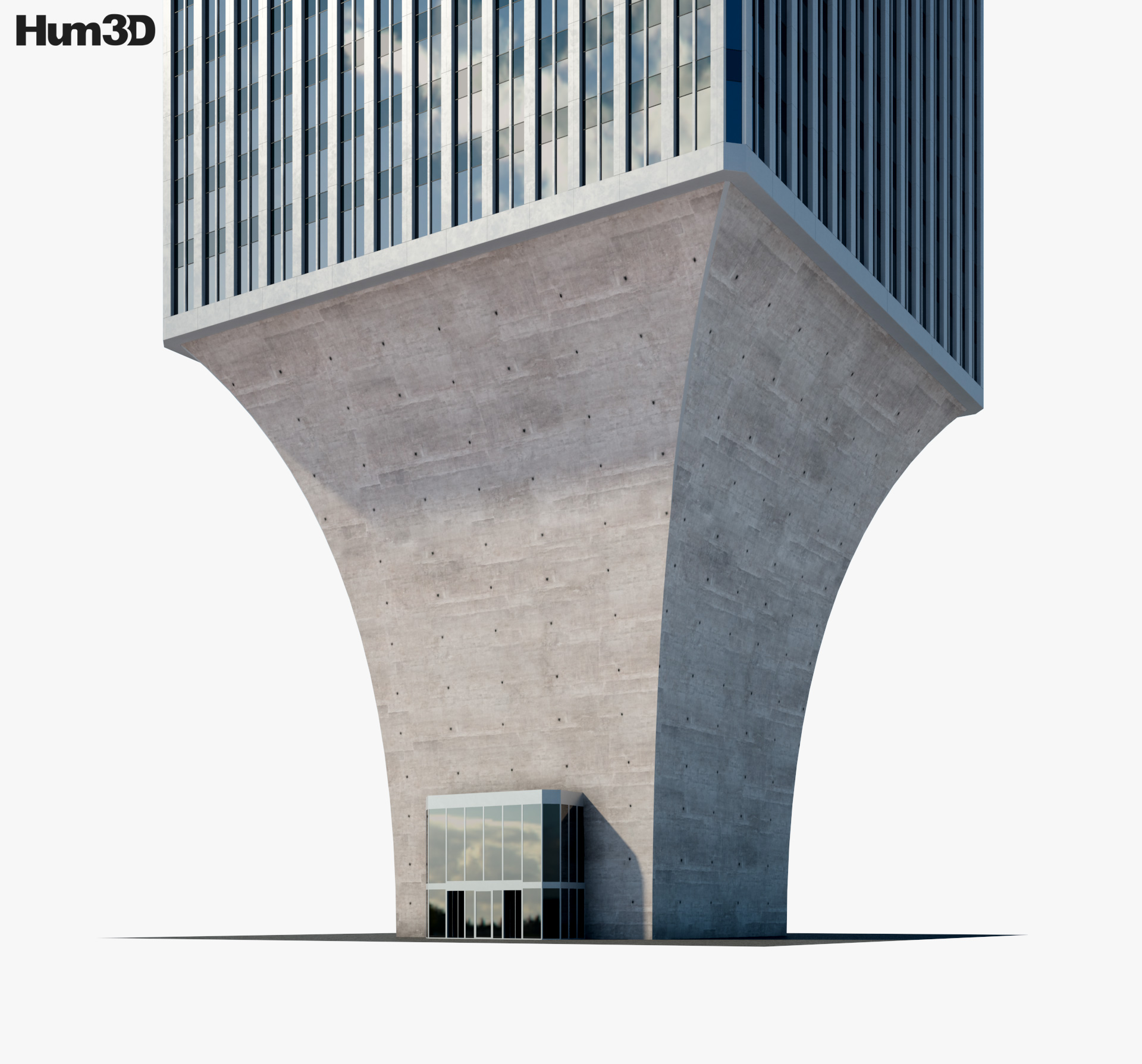 Rainier Tower 3d model